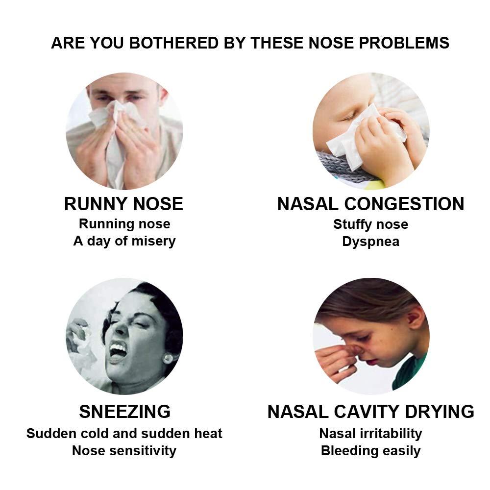 60PacketsNasensp/ülsalz Fesjoy Nasensp/ülsalz Nasensp/ülmischung Nasenpflege-Nasenschutz 30