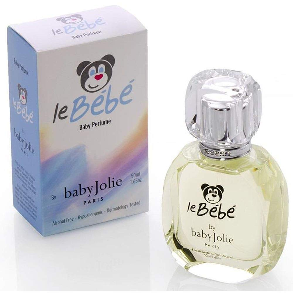 Baby Jolie Le Bebe Ultra Gentle Perfume for Kids I Baby Perfume | Soft Light Scent I BEST Cologne for babies 1.7oz