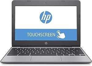 2019 Flagship HP 11.6in HD IPS WLED Touchscreen Chromebook - Intel Celeron N3060 up to 2.48GHz 4GB RAM 16GB eMMC 802.11ac HDMI Bluetooth USB 3.1 HD Webcam Chrome OS (Renewed)