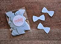 Little Man Party Decor. Bow Tie confetti 2 Packs (50ct each)