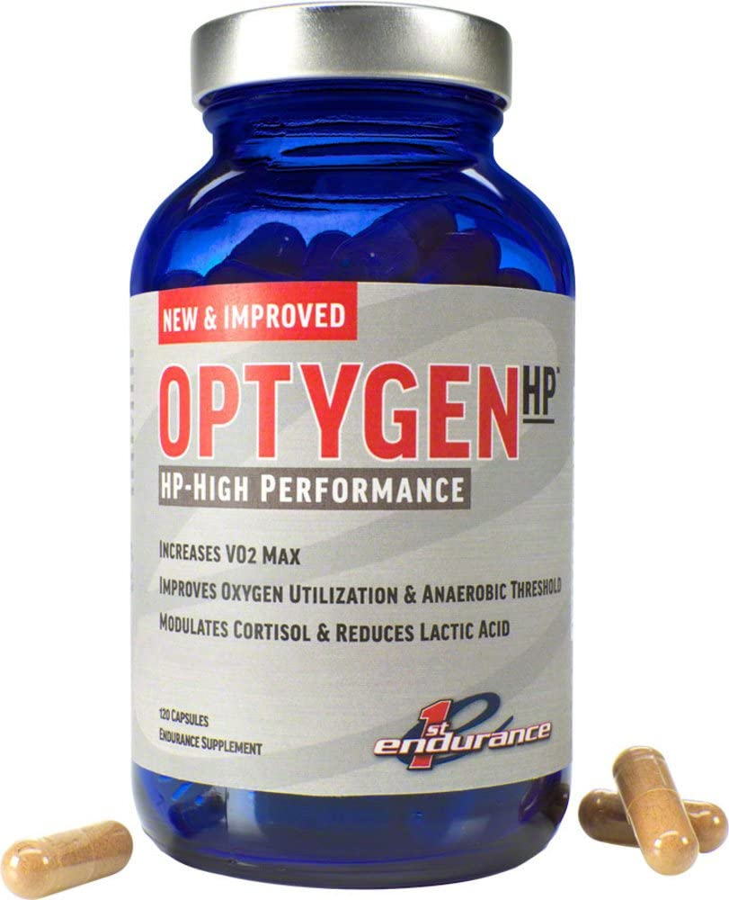 First Endurance OptygenHP Improved VO2, 120 Count