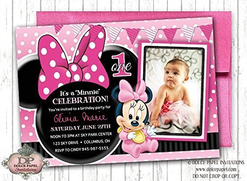 Amazon 10 Disney Princess BABY MINNIE MOUSE Inspired Black And