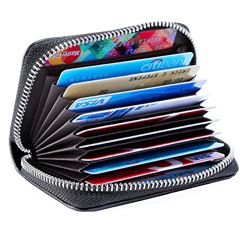 Purse Wallet Accordion (Women Accordion Wallet Mini Credit Card Holder Zip Around Small Coin Purse ¡­)