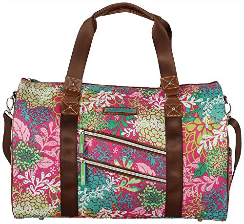 Blooms Floral (Lily Bloom Satchel (One Size, Floral Reef))