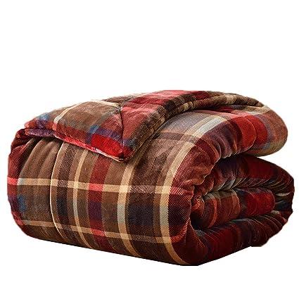 Amazon.com: Las mantas de franela FOREVER-YOU son gruesas ...