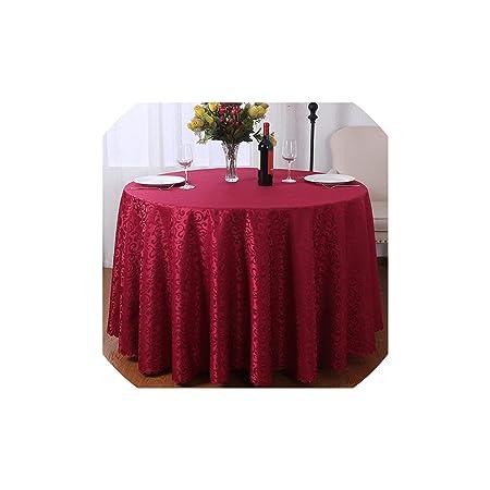 Archiba Tablecloths Cubierta de Mesa Redonda Banquete del Partido ...