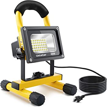 Ustellar 1600LM 20W LED Work Light with Plug