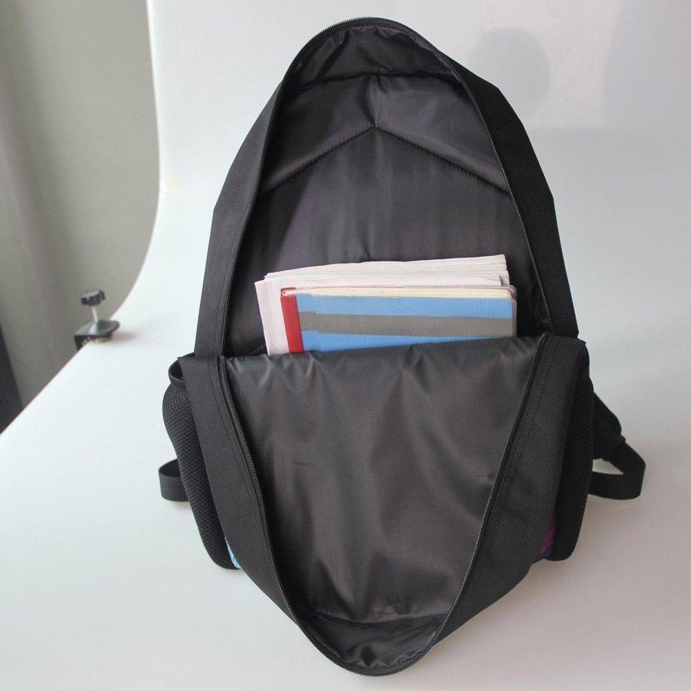 HUGS IDEA Kitten Cat Printing School Backpack Kids Schoolbag with Lunch Bag by HUGS IDEA (Image #4)