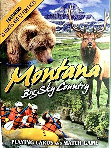 Montana Souvenir Playing Cards