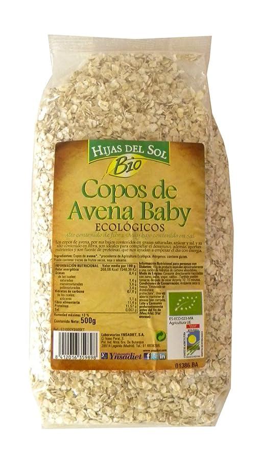 Hijas Del Sol Bio Copos de Avena - 500 g