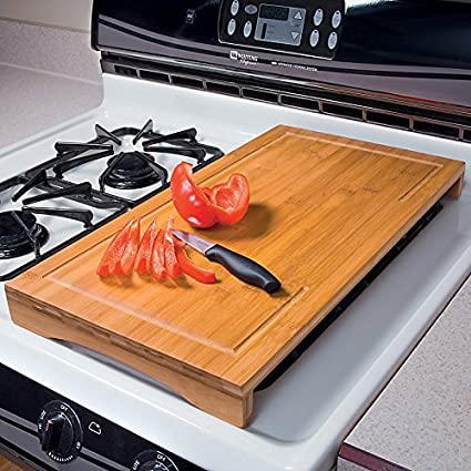 Incroyable Bamboo Over Sink Cutting Board