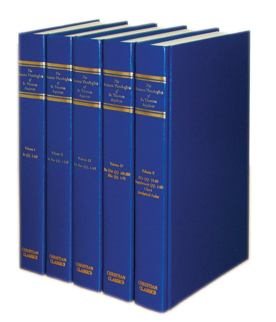 The Summa Theologica of St. Thomas Aquinas (Five Volumes) by Christian Classics