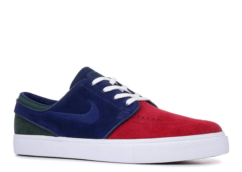 MultiCouleure (rouge Crush bleu Void blanc Midnight vert 641) 44 EU Nike Zoom Stefan Janoski, Chaussures de Fitness Homme