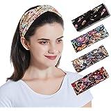 Twinfree 5 Pack Women Headband Flower Style Cross Head Wrap Hair Band…