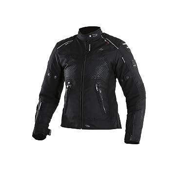 V Quattro Design Chaqueta Moto Mujer sp-51l, Negro: Amazon.es: Coche y moto