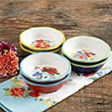 5 inch pie plate - The Pioneer Woman Spring 5-Inch Mini Pie Plates, Set of 6