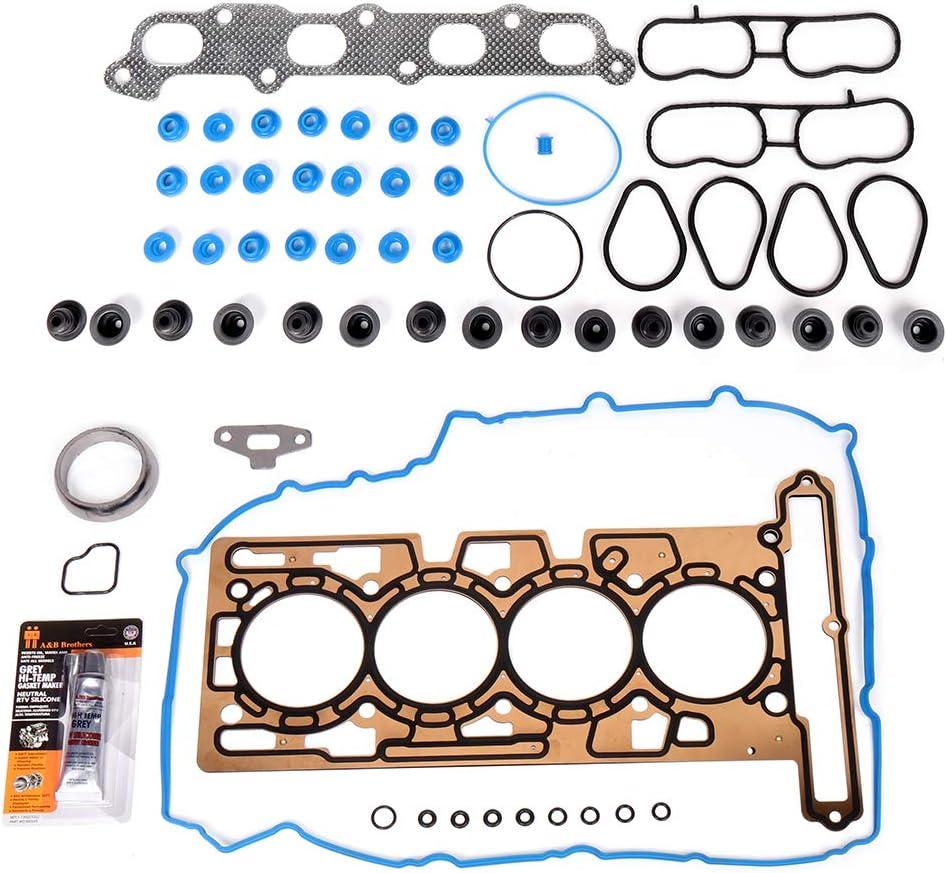 QUALINSIST Engine Sealing Replacement Part Head Gasket Sets for 2004-2006 Chevrolet Colorado 2.8L GMC Canyon 2.8L