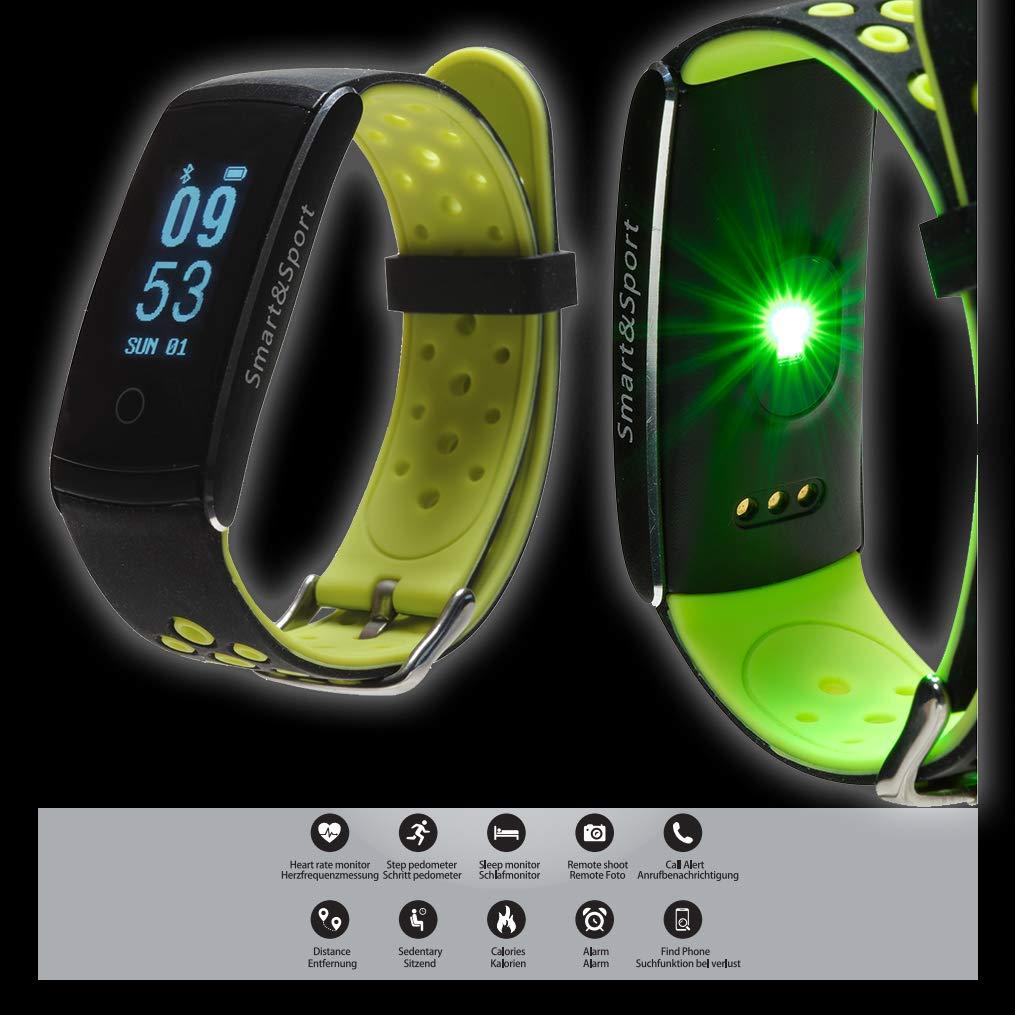Denver Bfh-13 Reloj Deportivo, Unisex Adulto, Verde, 2.20(w) x 22.00(d) x 1.20(h) cm: Denver-Electronics: Amazon.es: Deportes y aire libre