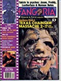 Fangoria Magazine 57 THE TEXAS CHAINSAW MASSACRE Poltergeist LEATHERFACE Psycho FLY September 1986 C (Fangoria Magazine)