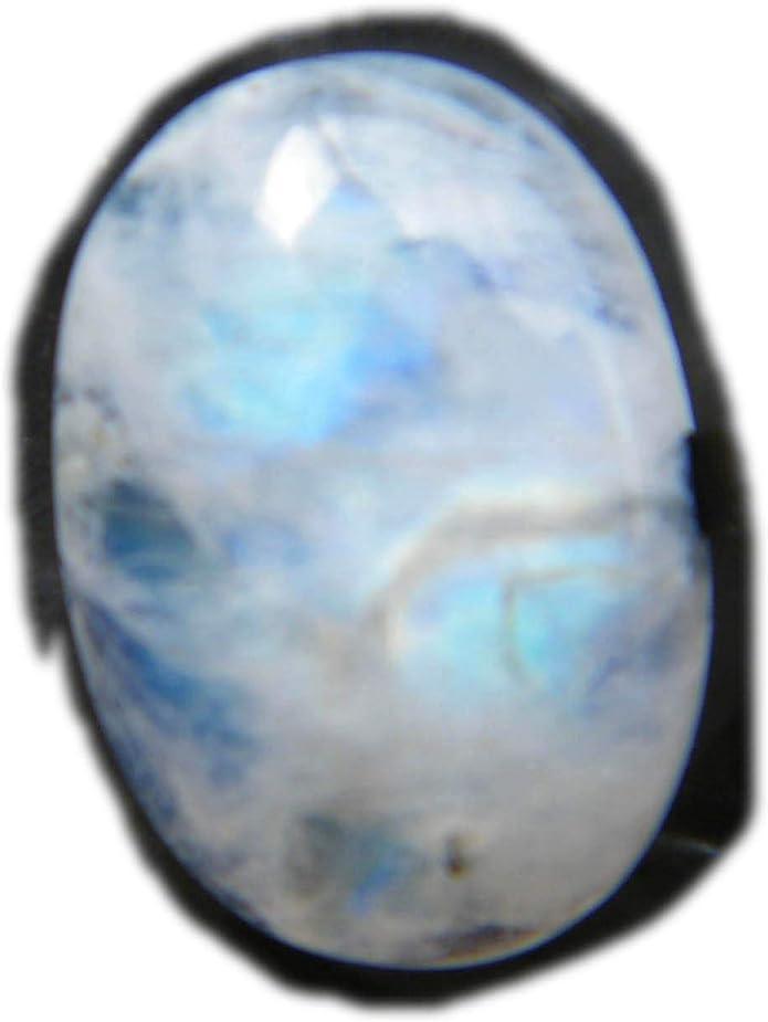 Rainbow Moonstone Cabochon,Natural Rainbow Moonstone Hand Carved Rectangle Cabochon,Rainbow Moonstone Cabochon,16.5x12x7.5MMW,holesale #2046