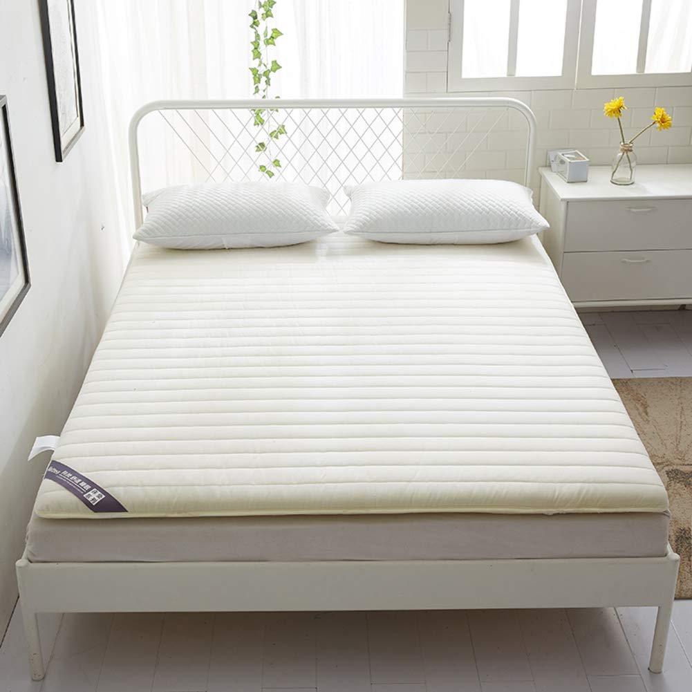 通気性 寝 畳 床マット, 式 マットレス パッド トッパー 布団 日本語 ロールアップします。 出窓用 ハイハイマット ホーム-A 100x200cm(39x79inch) B07QCXSDZQ A 100x200cm(39x79inch)