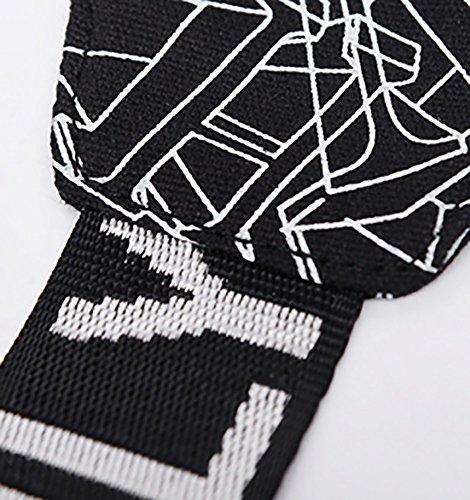 CLOTHES- Versione coreana della spalla trasversale trasversale della tela di canapa Sacchetto di cassa dell'uomo del sacchetto di viaggio di svago libero di modo