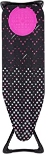 "Minky Homecare Hot Spot Pro Ironing Board, 48"" x 15"", Black Multi"