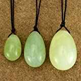 3 pieces Set Xiuyan Jade Eggs For Women Exercise Handmade Natural Jade Eggs set Exercise Balls