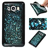Samsung Galaxy J5 2016 Case, Samsung Galaxy J5 2016 Glitter Case,Cozy Hut 3D Luxury Sky Blue Star Design High Quality Plastic Shell Shockproof Soft Case Cover Flexible Cell Phone Hull for Samsung Galaxy J5 2016 - Blue sky