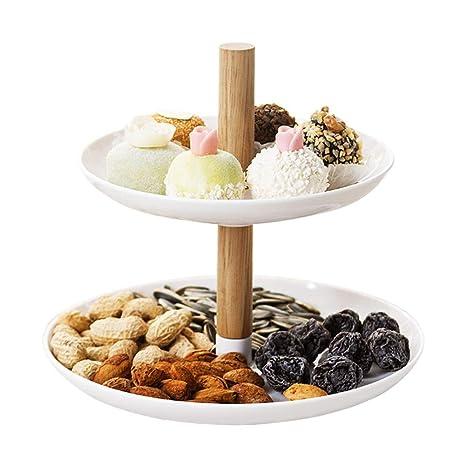 WEEKDEGY Piatto di Frutta in Ceramica Decorazioni per la ...