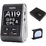 VIOFO A119 V2 Dash Camera GPS Logger & CPL 2018 Edition (OCD Tronic Certified)
