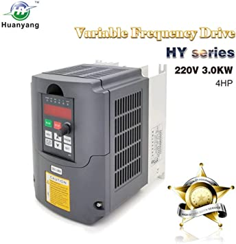 3KW  VARIABLE FREQUENCY DRIVE INVERTER VFD 110V 4HP 13A VFD  HY TOP QUALITY
