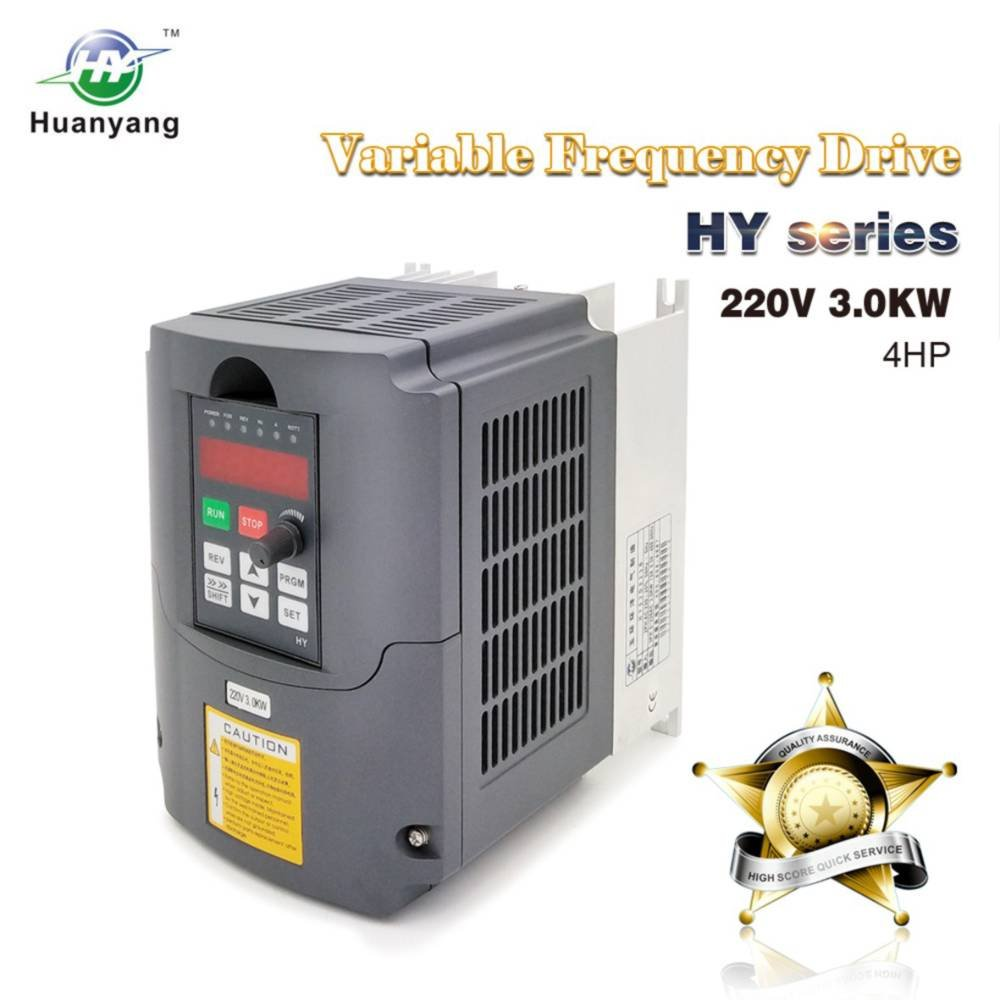 amazoncom vfd 220v 30kw 4hp variable frequency drive cnc motor