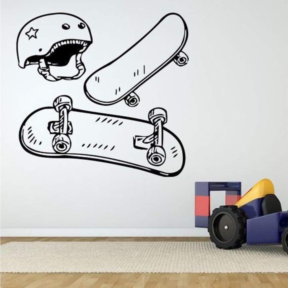 Haninj Skate Board Casco Cartel Decoración Decorativa Para ...