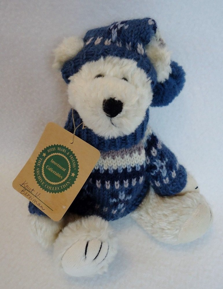 Boyds Bears Plush Bear – Knut 8 Bear J.B. Bean & Associates by The Boyds Collezione Ltd.