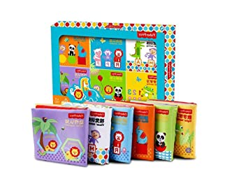 Livre D Eveil De Bebe Early Education Cloth Livre Lot De 6