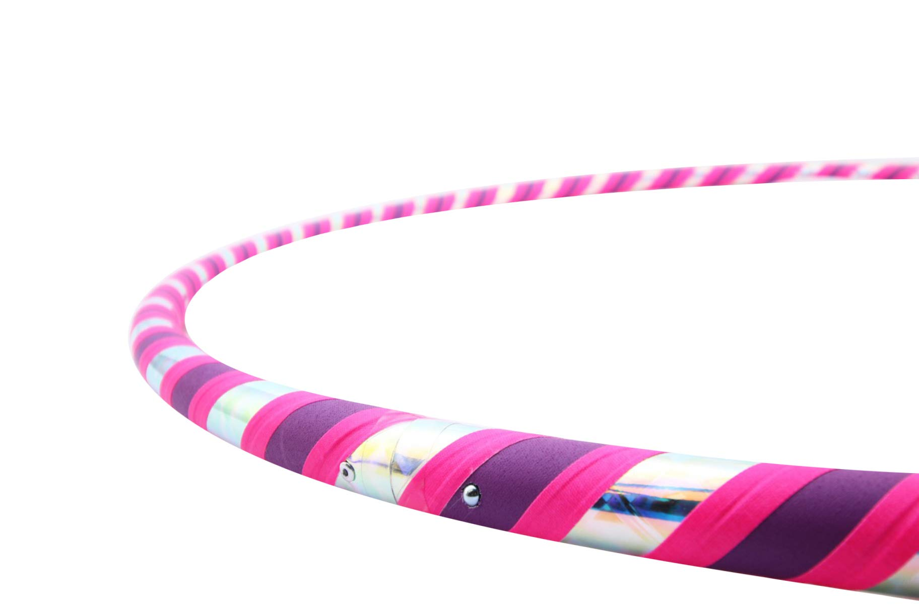 The Spinsterz Adult Beginner Hula Hoop (Bubble Yum, Regular - 38'' Diameter)