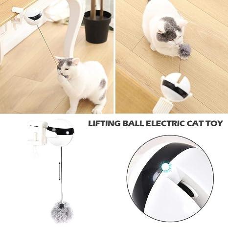 Haodene Juguetes para Gatos Electricos Interactivos - Yo-Yo De ...