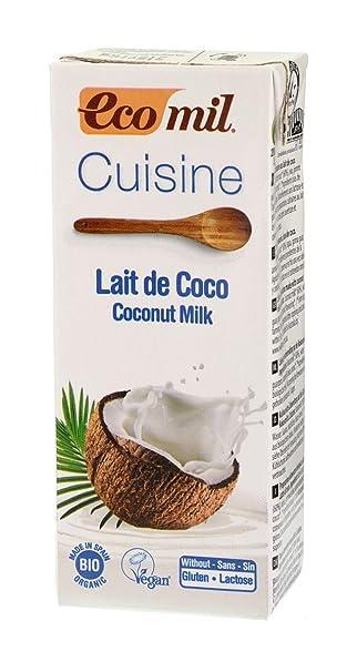 Cuisine Coco (Crema para Cocinar) Ecológica Ecomil (200 ml)