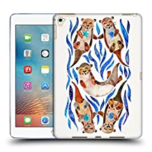 Official Cat Coquillette Blue Otters Animals 2 Soft Gel Case for Apple iPad mini 1 / 2 / 3