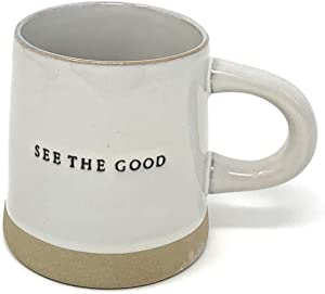 Stoneware Mug See the Good