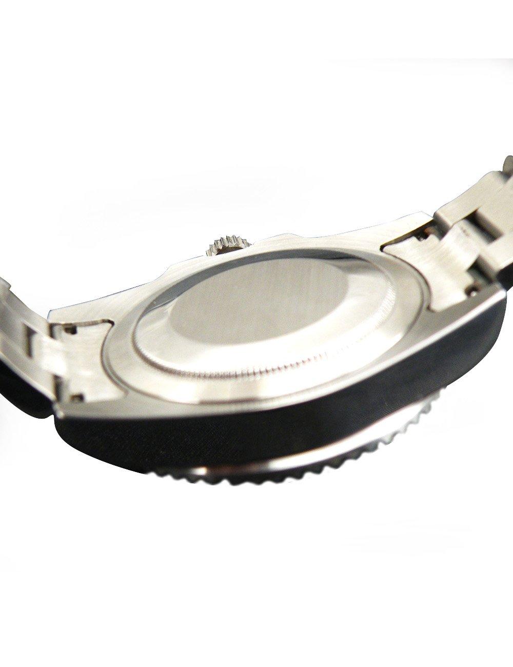Whatswatch Parnis Submariner Ceramic Bezel Sapphire Glass Automatic Watch Luminous ZA-228