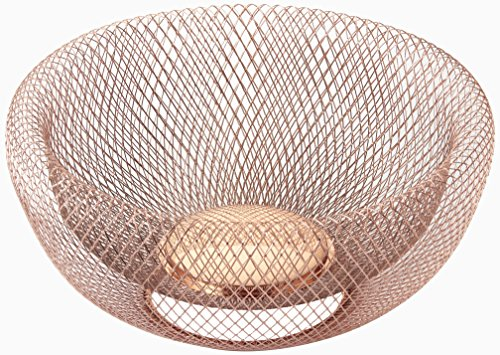 NIFTY 7511COP Double Wall Mesh Decorative and Fruit Bowl 5 quart/12 -