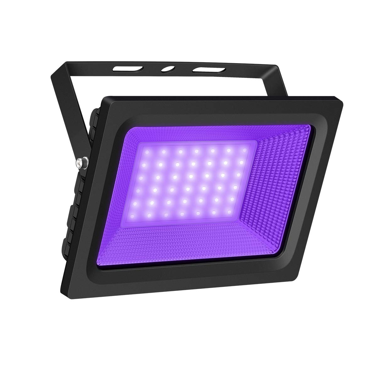 UV Black Light, Gianor 50W UV LED Flood Light Bulb Outdoor, IP66 Waterproof Disco Blacklights for Fishing/Aquarium/Curing, Body Paint, Fluorescent Poster, Neon Glow, Stage Lighting