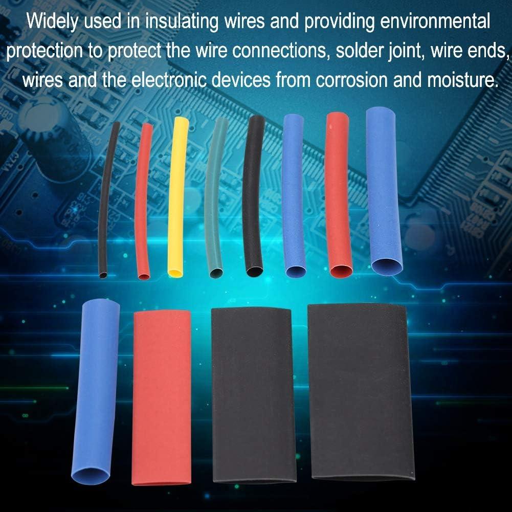 Keenso Tubo termorretr/áctil 560Pcs//Box Cable Wire Tuber/ía termorretr/áctil Aislamiento Envoltura de Tubo retr/áctil Funda