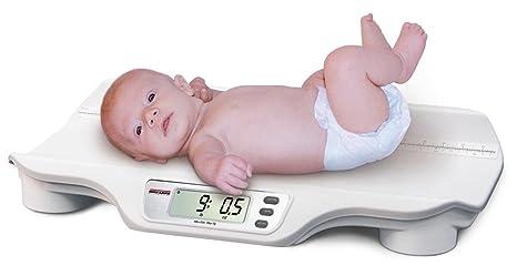 Rice Lake RL-DBS - Báscula digital portátil para bebés (44 lb x 0