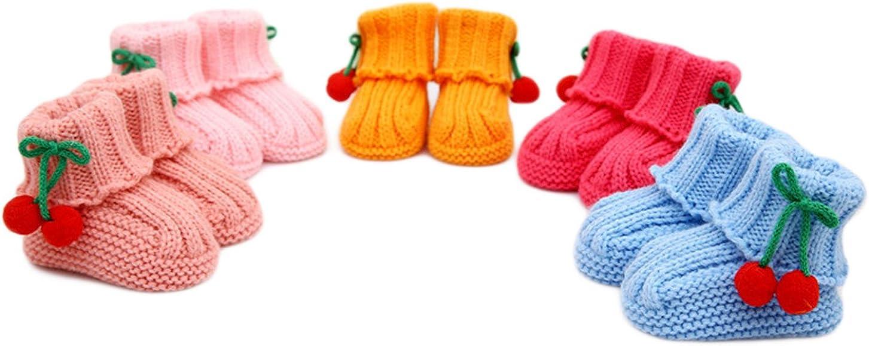 Bebé Bebés Niñas Niños 2 Piezas Sombrero Botines Botín Calcetines Zapatilla recién nacidos