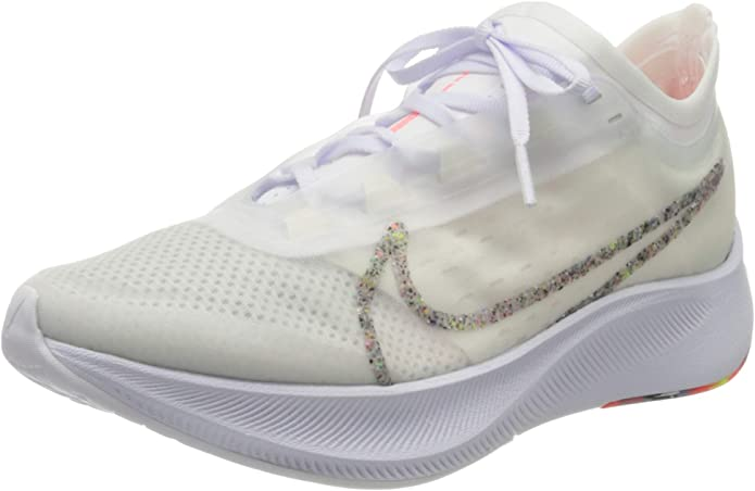 Nike Wmns Zoom Fly 3 AW, Zapatillas de Running para Mujer, White ...