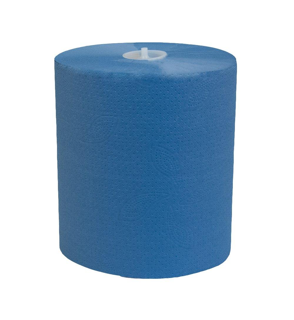 Katrin Básico de sistema toalla de papel M Azul 4602186 rollos de 6 X 895 Hojas