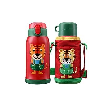 Botella de Agua, Taza de Viaje para niños, Acero Inoxidable ...
